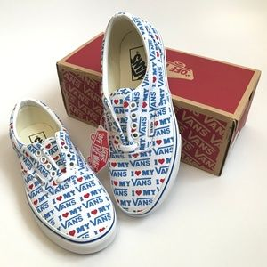 Vans Era I Heart Vans Lace Up Sneakers